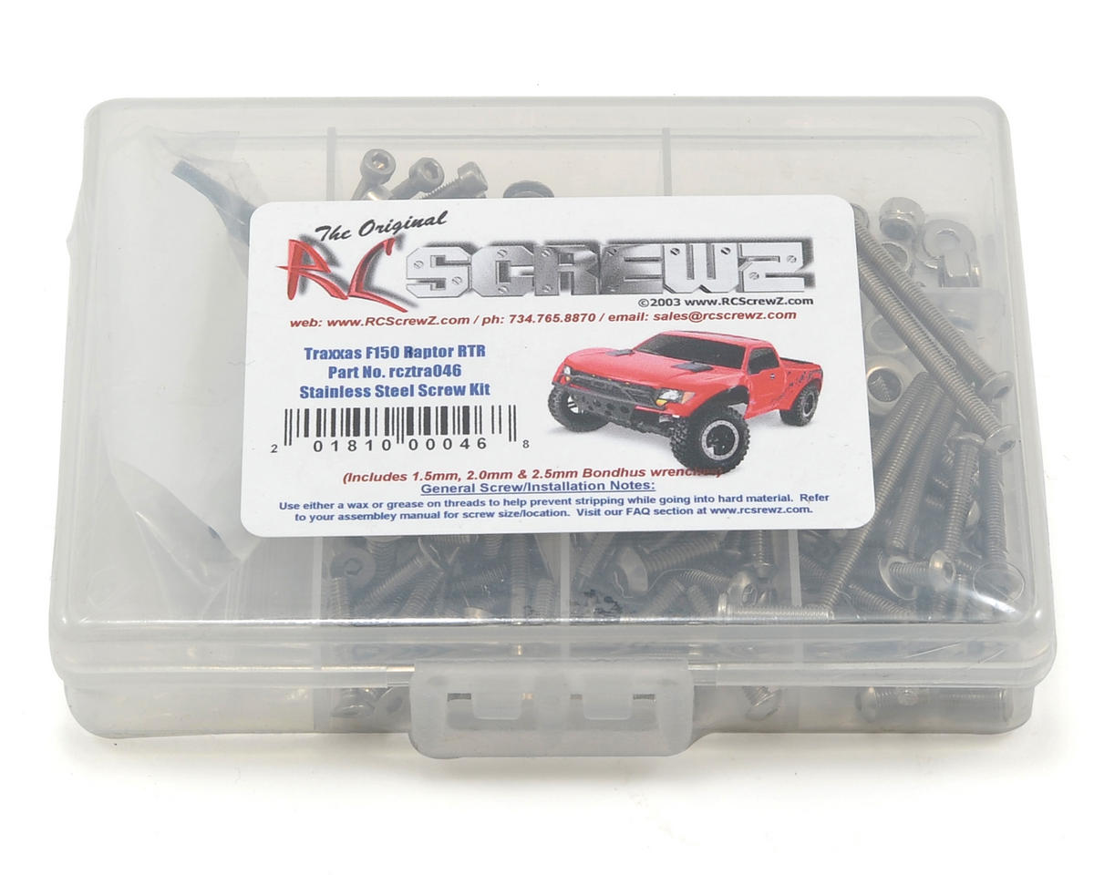 RC Screwz Traxxas Ford F150 Raptor SVT Screw Set