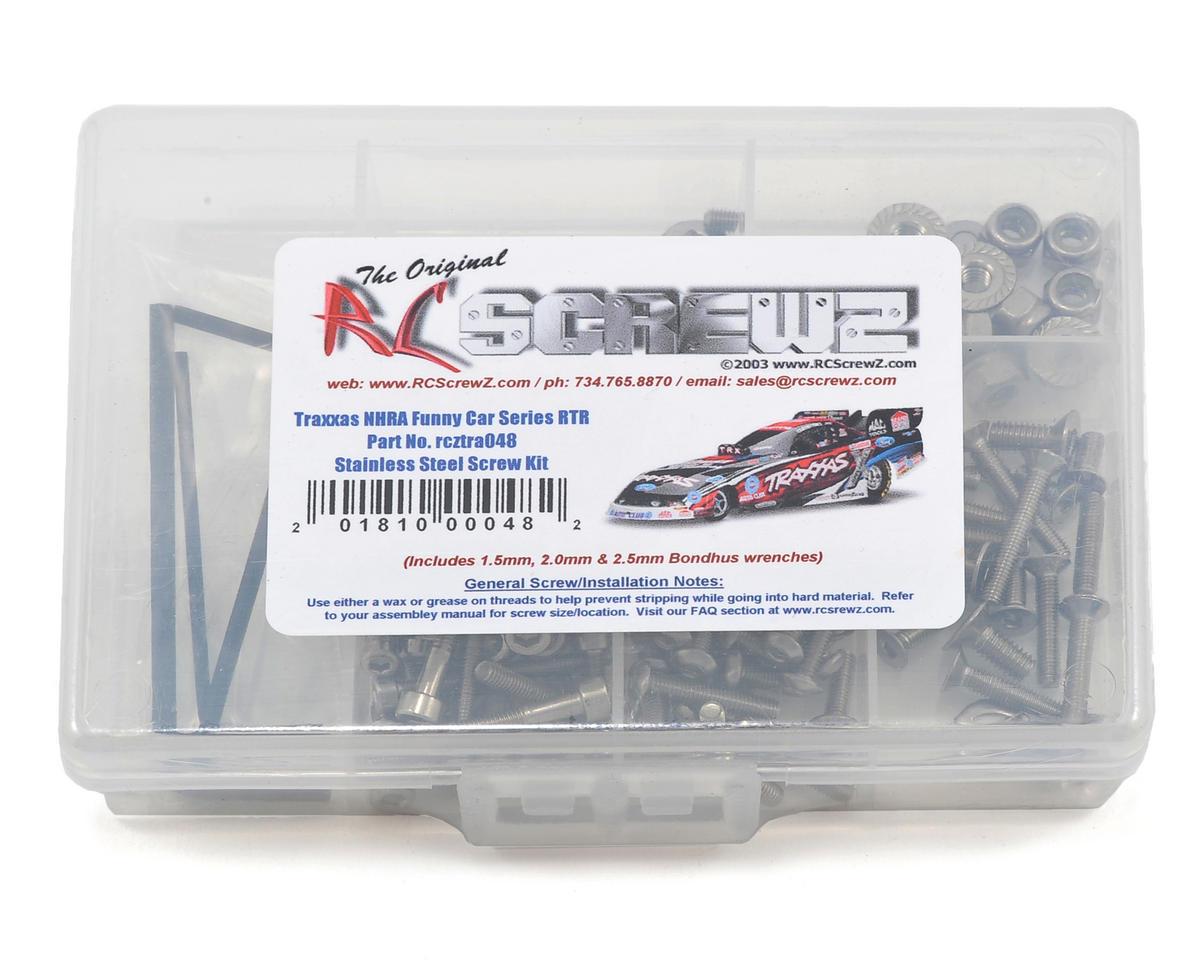 RC Screwz Traxxas NHRA Funny Car Series Stainless Steel Screw Kit