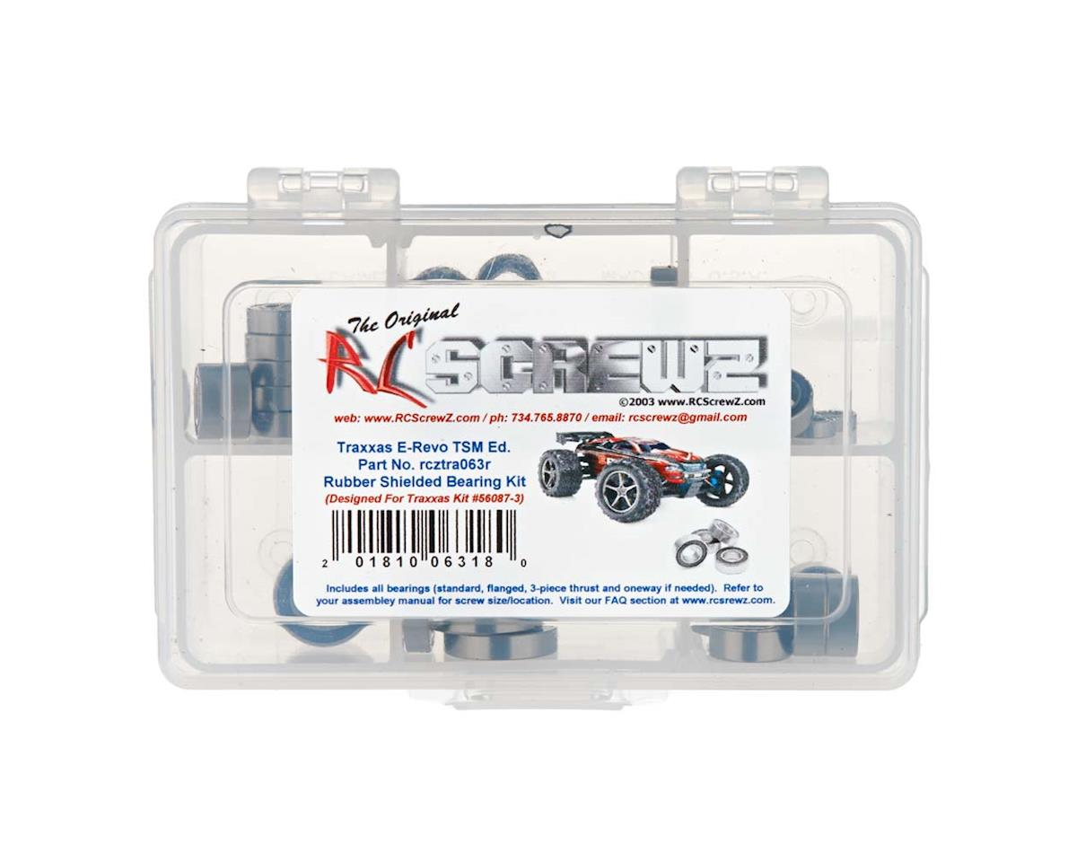 RC Screwz E-Revo TSM Rubber Shielded Bearing Kit