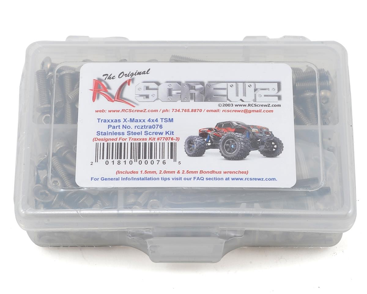 Traxxas X-Maxx 4x4 Stainless Screw Kit by RC Screwz