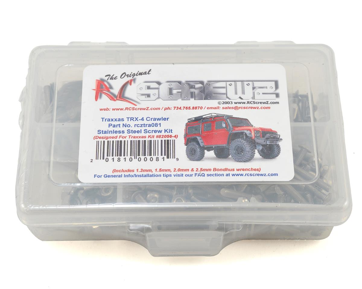 Traxxas TRX-4 Stainless Steel Screw Kit by RC Screwz