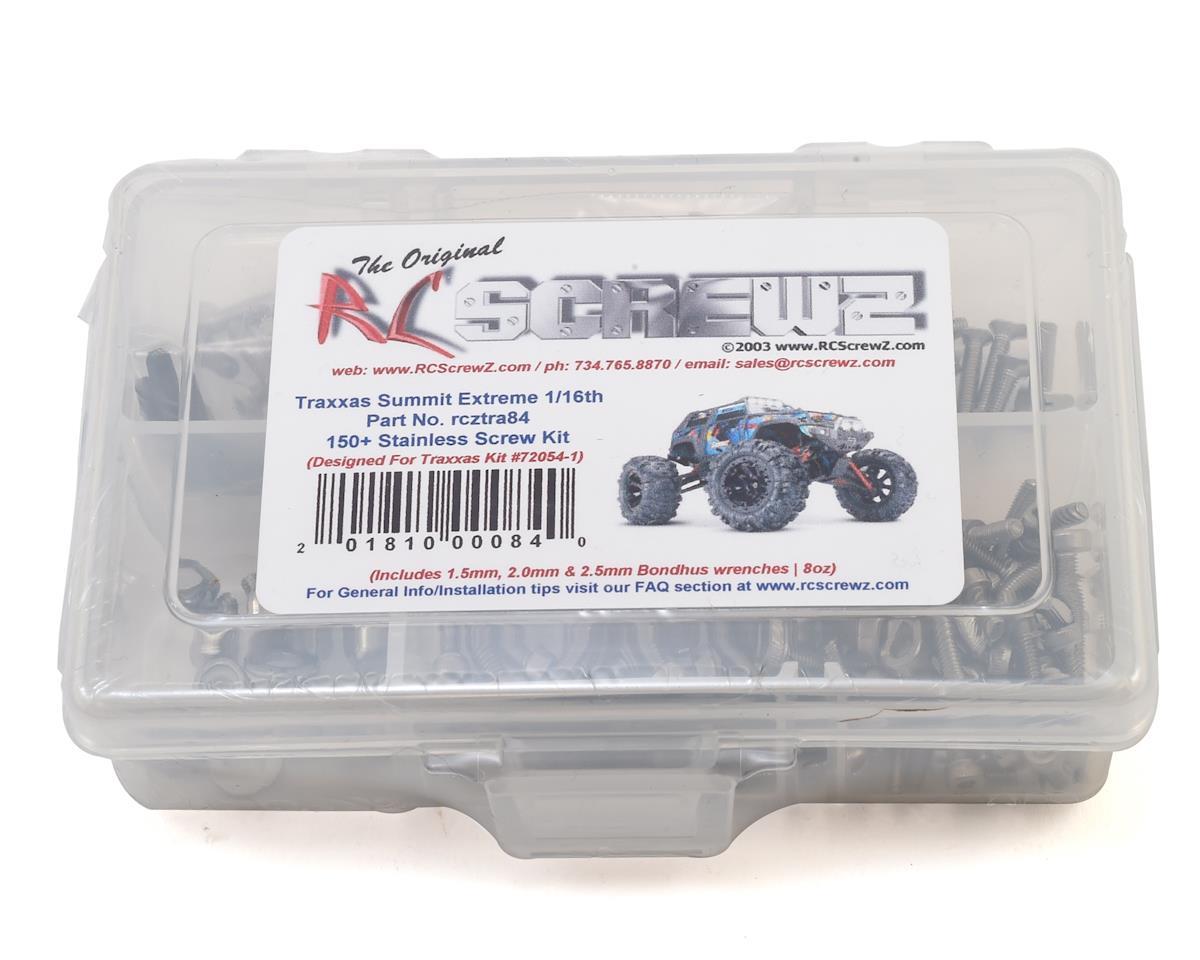 Traxxas 1/16 Summit Stainless Steel Screw Kit by RC Screwz
