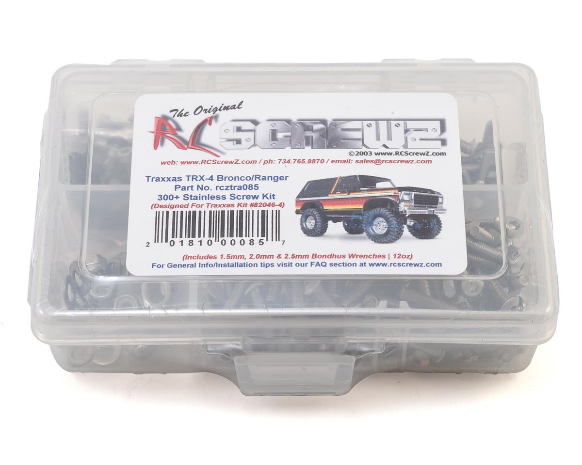 RC Screwz Traxxas TRX-4 Bronco Stainless Steel Screw Kit