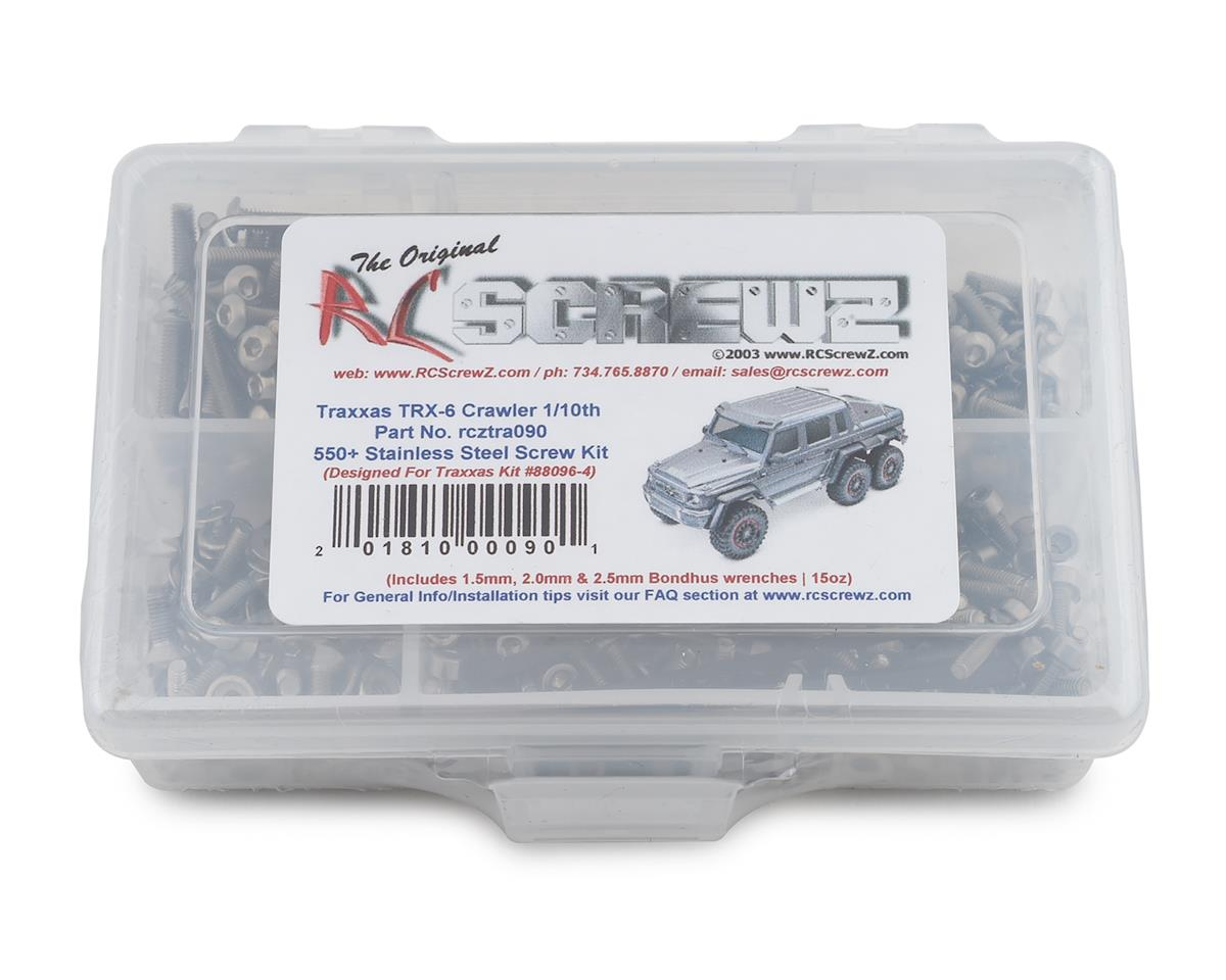 RC Screwz Traxxas TRX-6 Crawler Stainless Steel Screw Kit