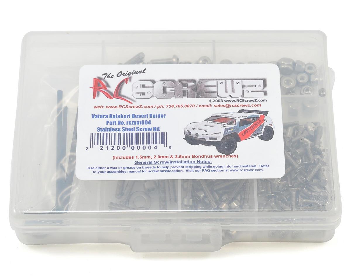 RC Screwz Vaterra Kalahari Stainless Steel Screw Set