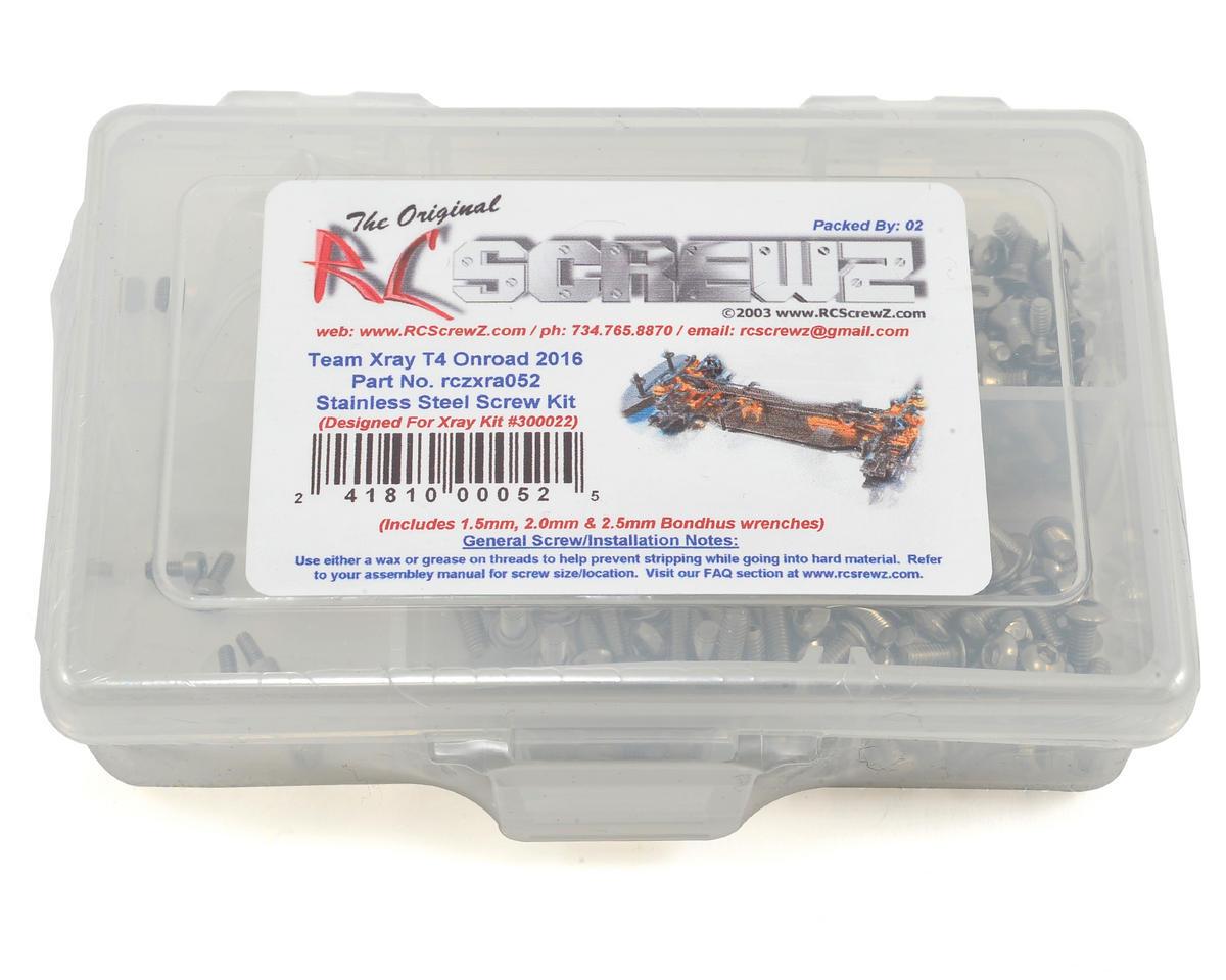 RC Screwz XRAY T4 2016 Stainless Steel Screw Kit
