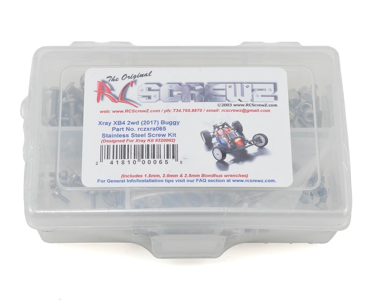 RC Screwz XRAY XB2 2017 Carpet Edition Stainless Screw Kit