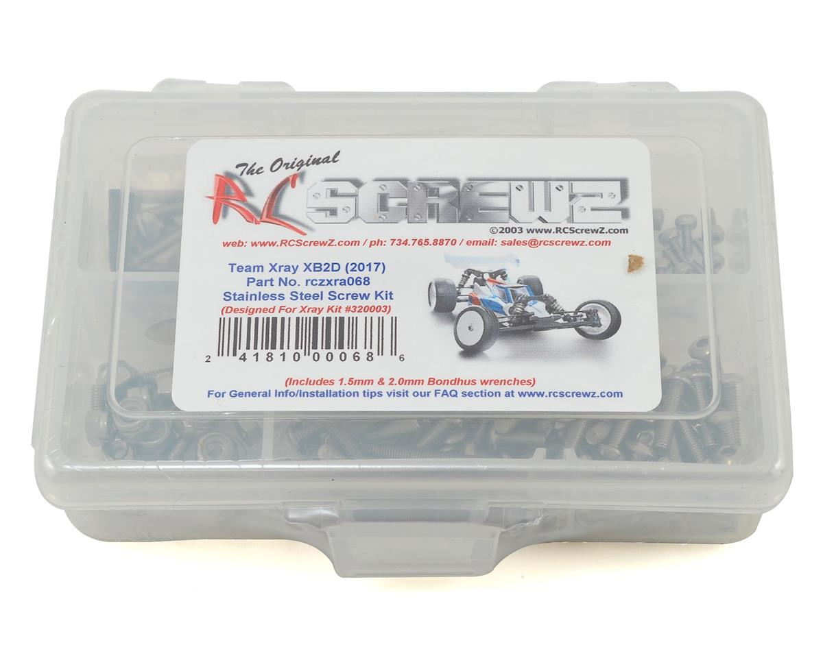 RC Screwz XRAY XB2D 2017 Buggy Stainless Steel Screw Kit