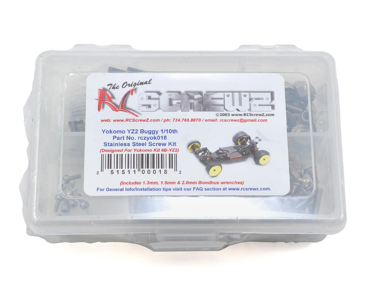 RC Screwz Yokomo YZ-2 Buggy 1/10 Stainless Screw Kit