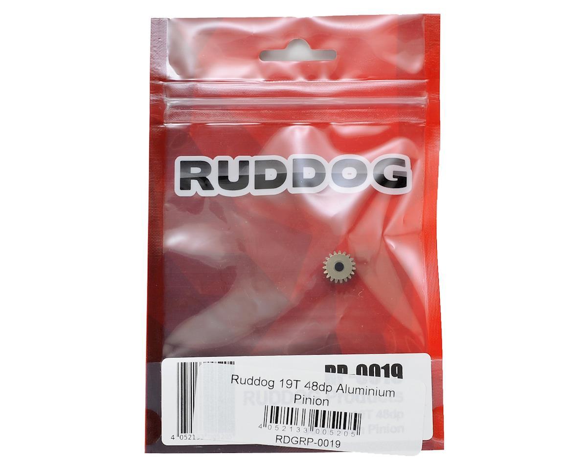 Ruddog 48P Aluminum Pinion Gear (3.17mm Bore) (19T)