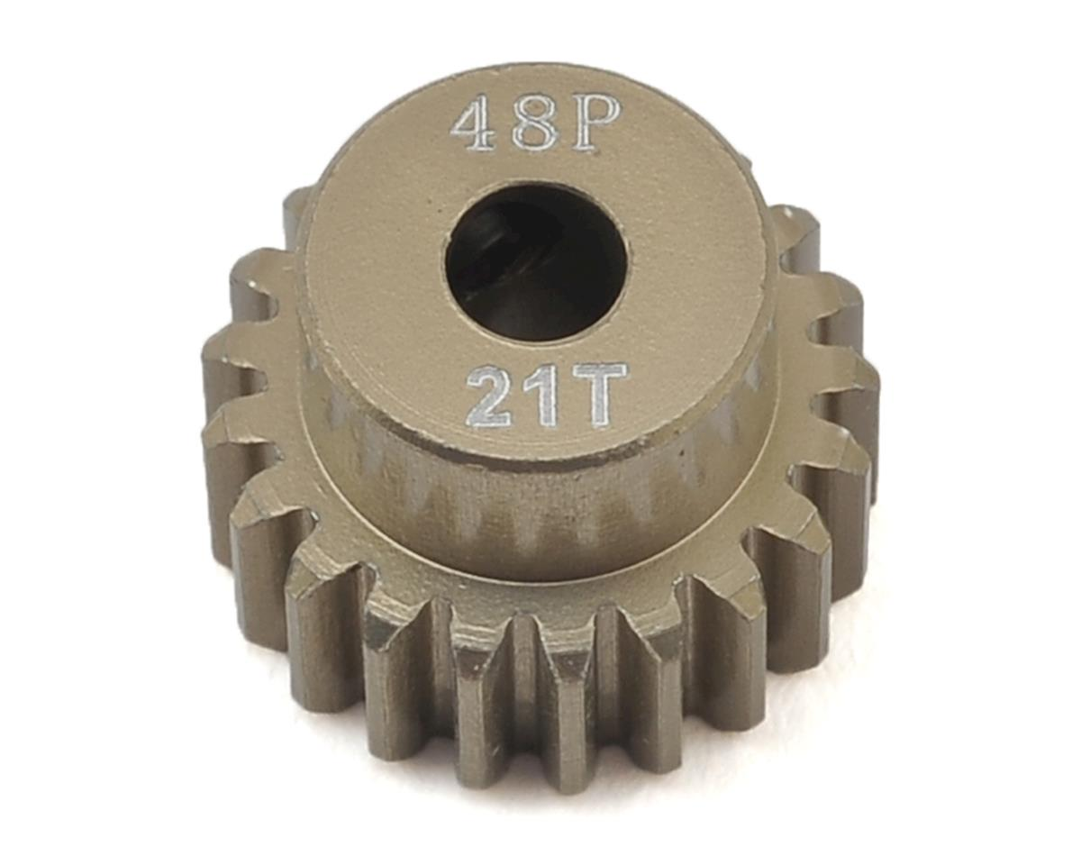 48P Aluminum Pinion Gear (21T) by Ruddog