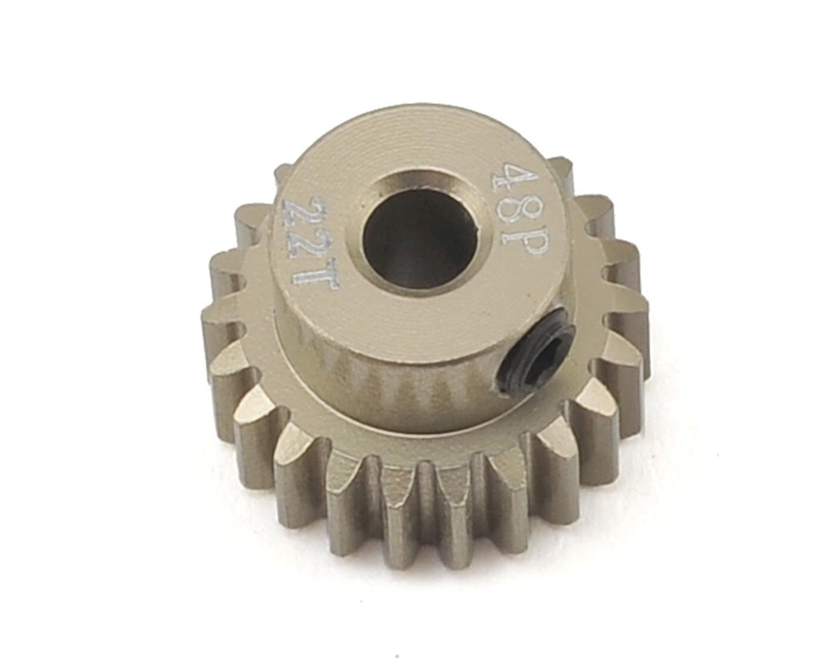 48P Aluminum Pinion Gear (22T) by Ruddog
