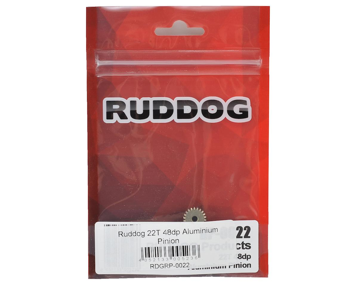 Ruddog 48P Aluminum Pinion Gear (3.17mm Bore) (22T)