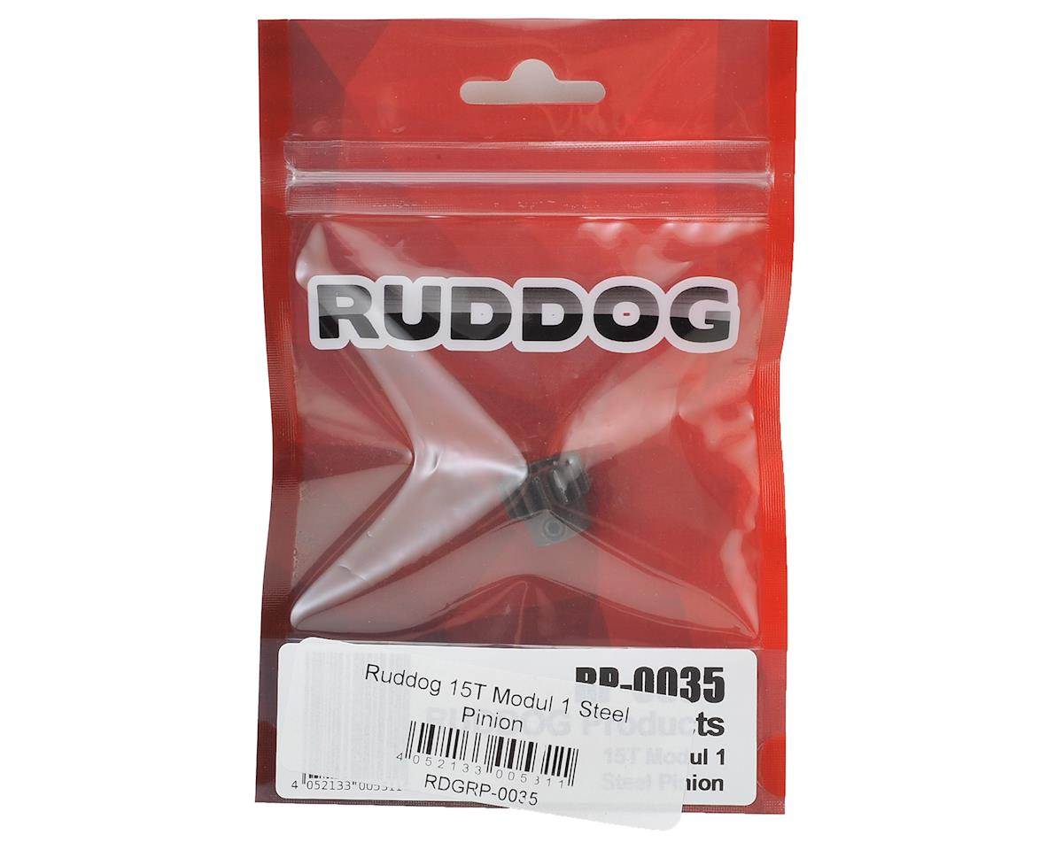 Mod 1 Steel Pinion Gear (15T) by Ruddog