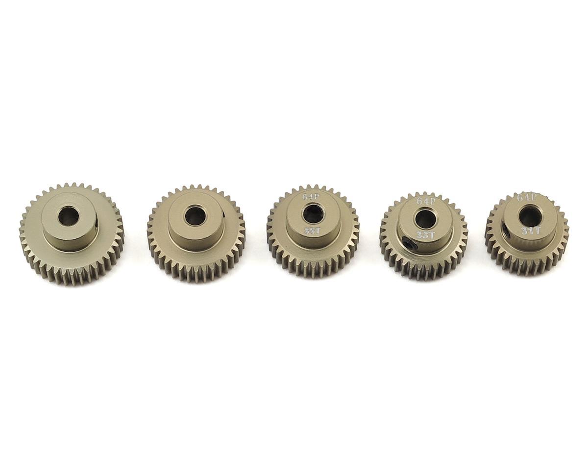 Ruddog 5-Pack 64P Aluminum Pinion Gear Odd Pack (31,33,35,37,39T)