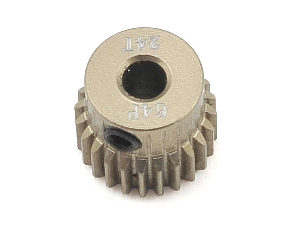64P Aluminum Pinion Gear (24T) by Ruddog