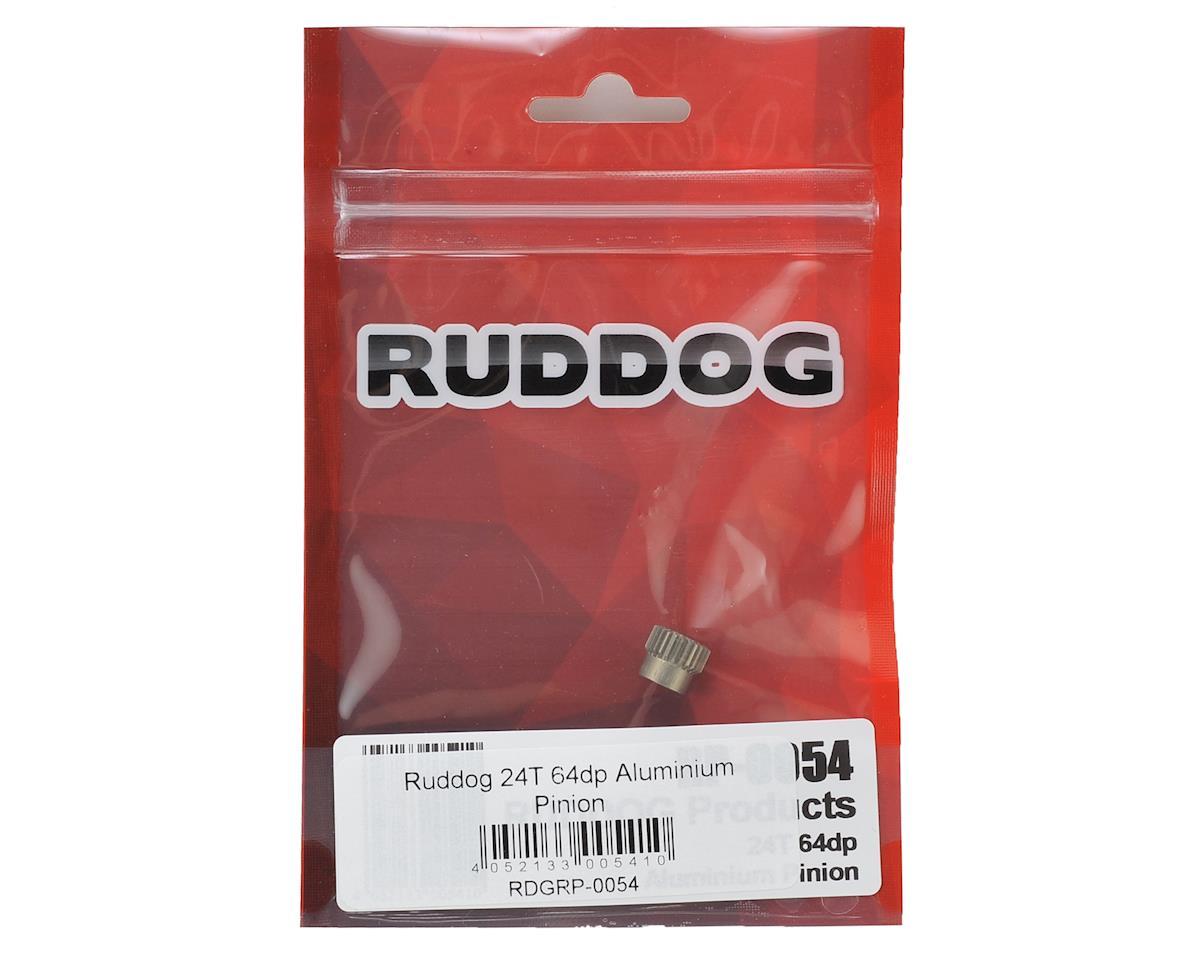 Ruddog 64P Aluminum Pinion Gear (24T)