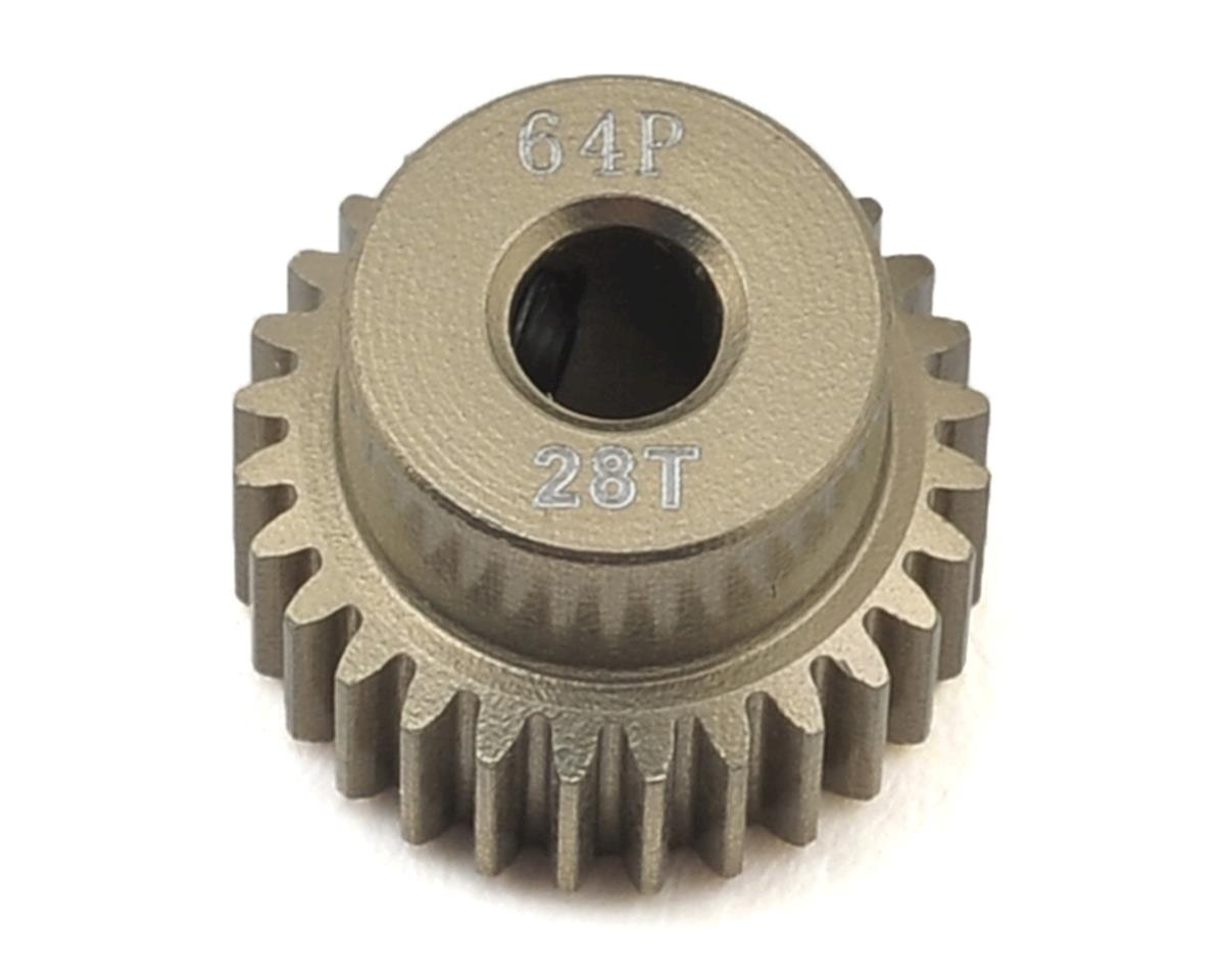 64P Aluminum Pinion Gear (28T) by Ruddog