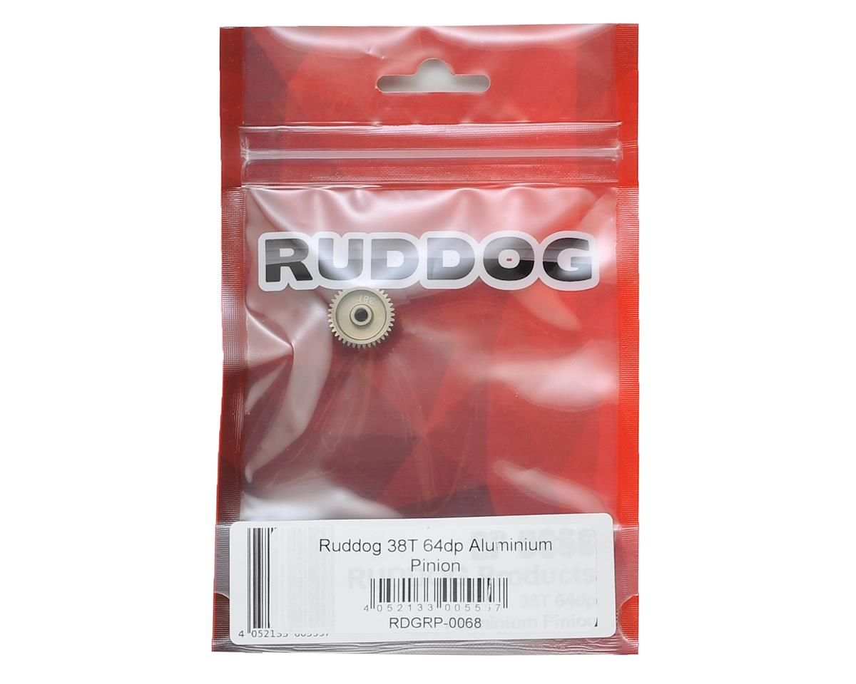 64P Aluminum Pinion Gear (38T) by Ruddog