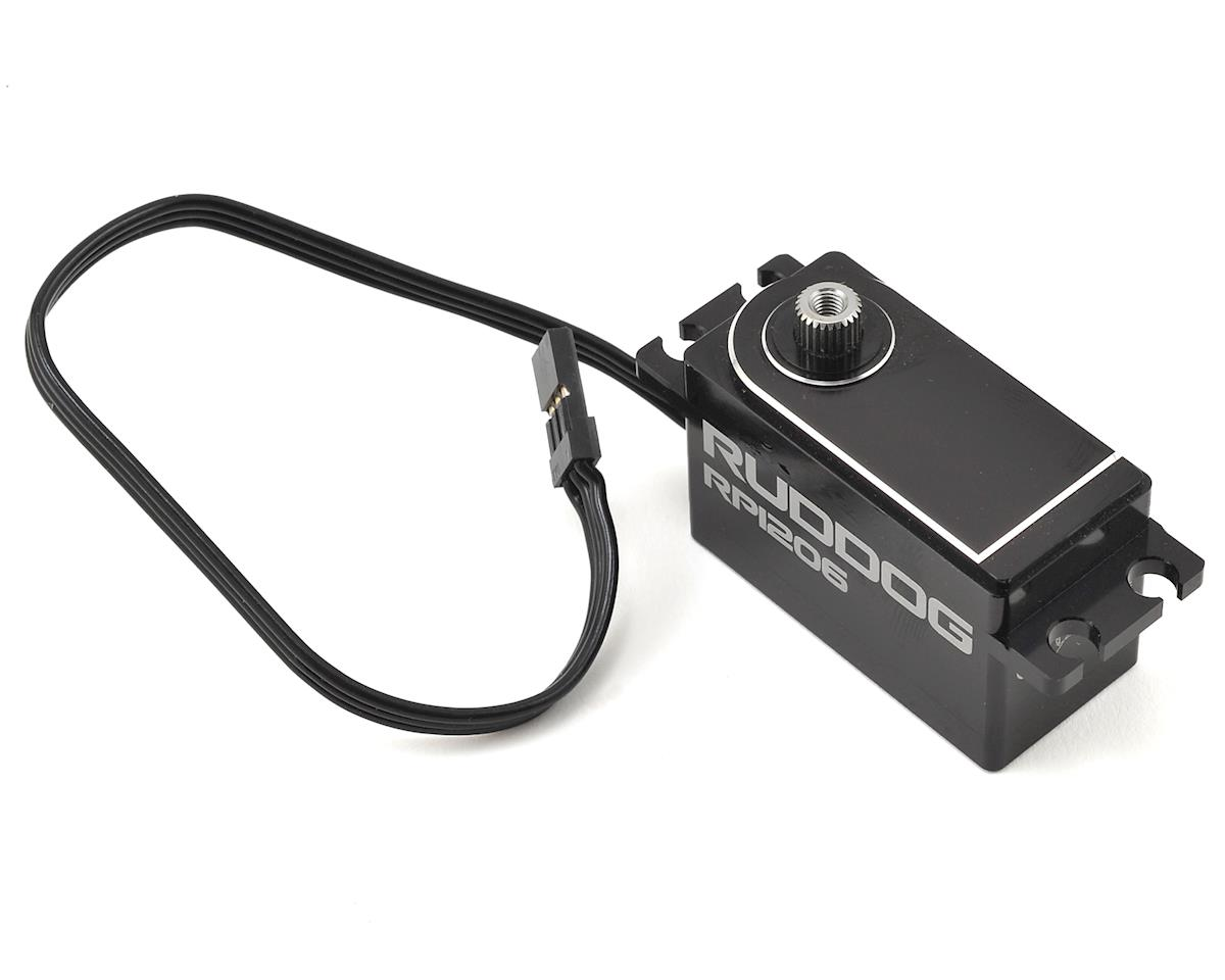 Ruddog RP1206 Low Profile Coreless Servo w/18cm wire (High Voltage)