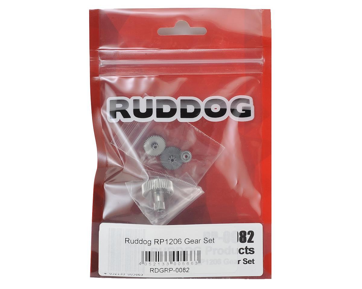 Ruddog RP1206 Servo Gear Set