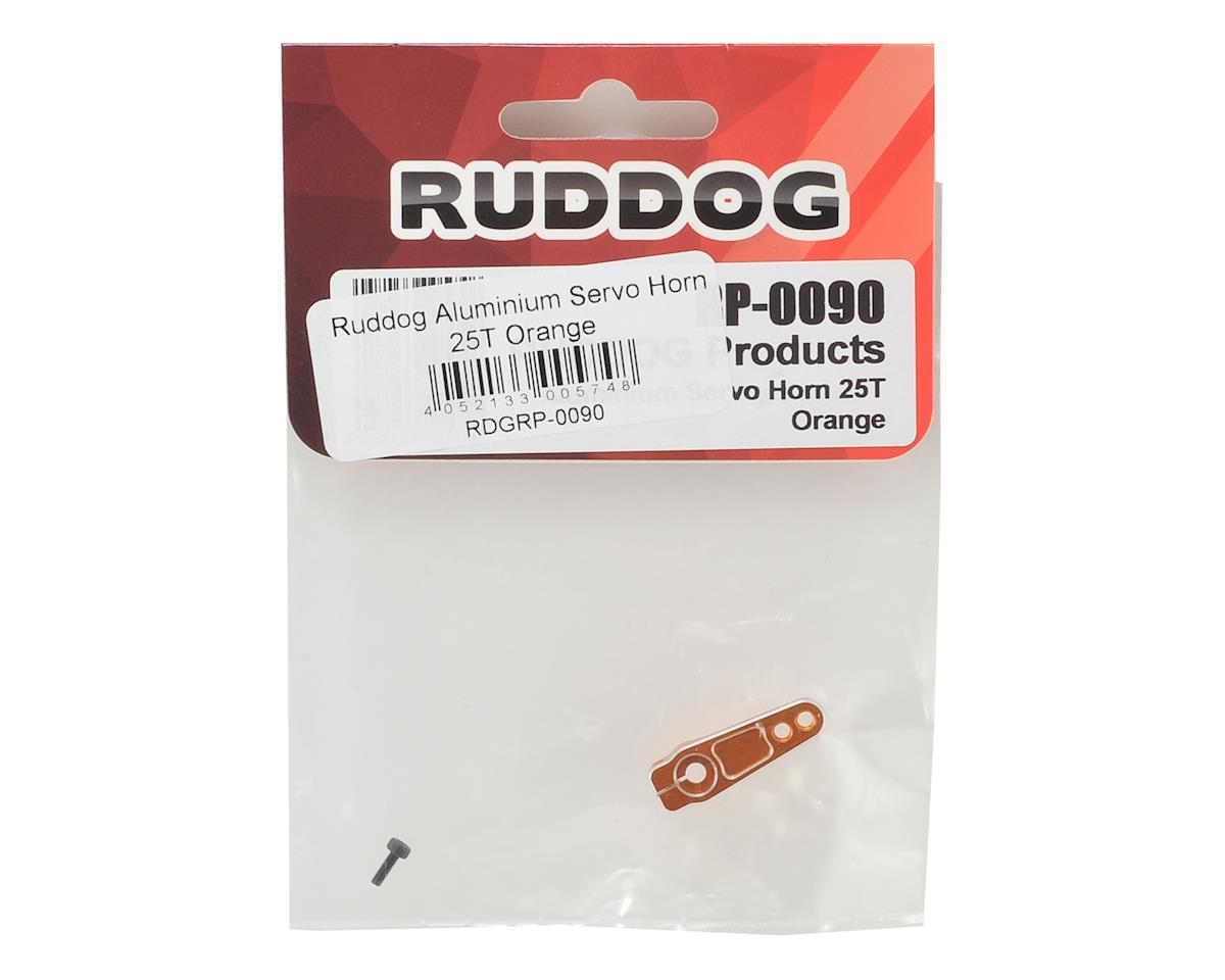 Ruddog Aluminum Servo Horn (Orange) (25T-ProTek/Ruddog/Savox)