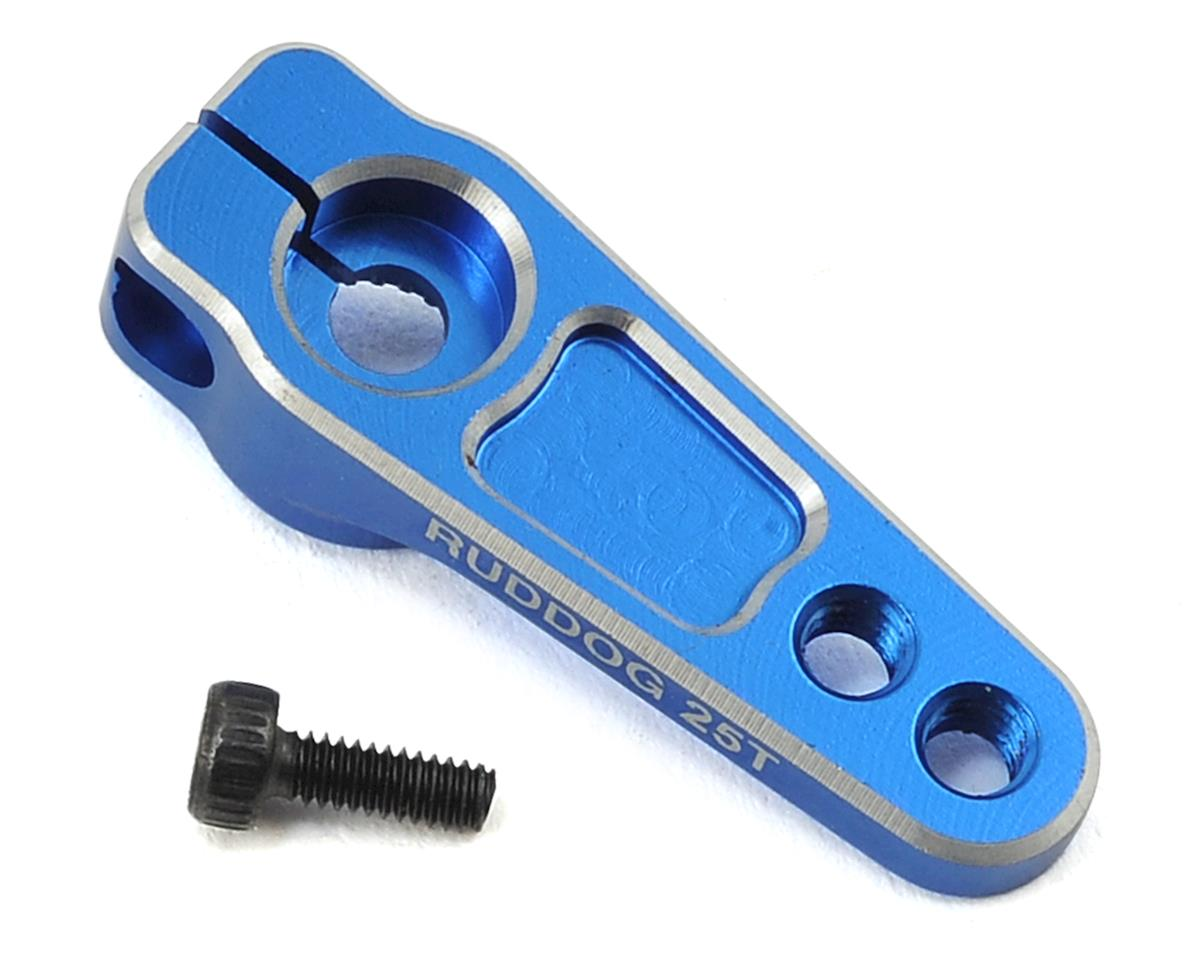 Ruddog Aluminum Servo Horn (Blue) (25T-ProTek/Ruddog/Savox)