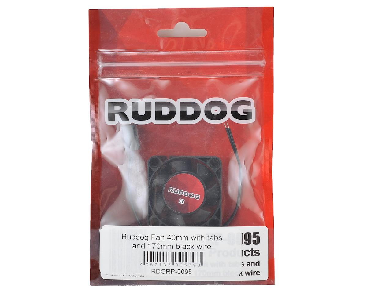 Ruddog 40mm Fan w/Tabs & 170mm Wire