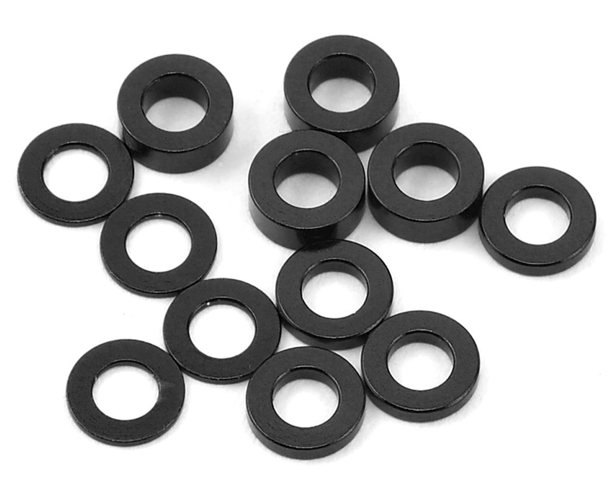 Ruddog 3mm Washer Set (Black) (0.5mm/1.0mm/2.0mm)