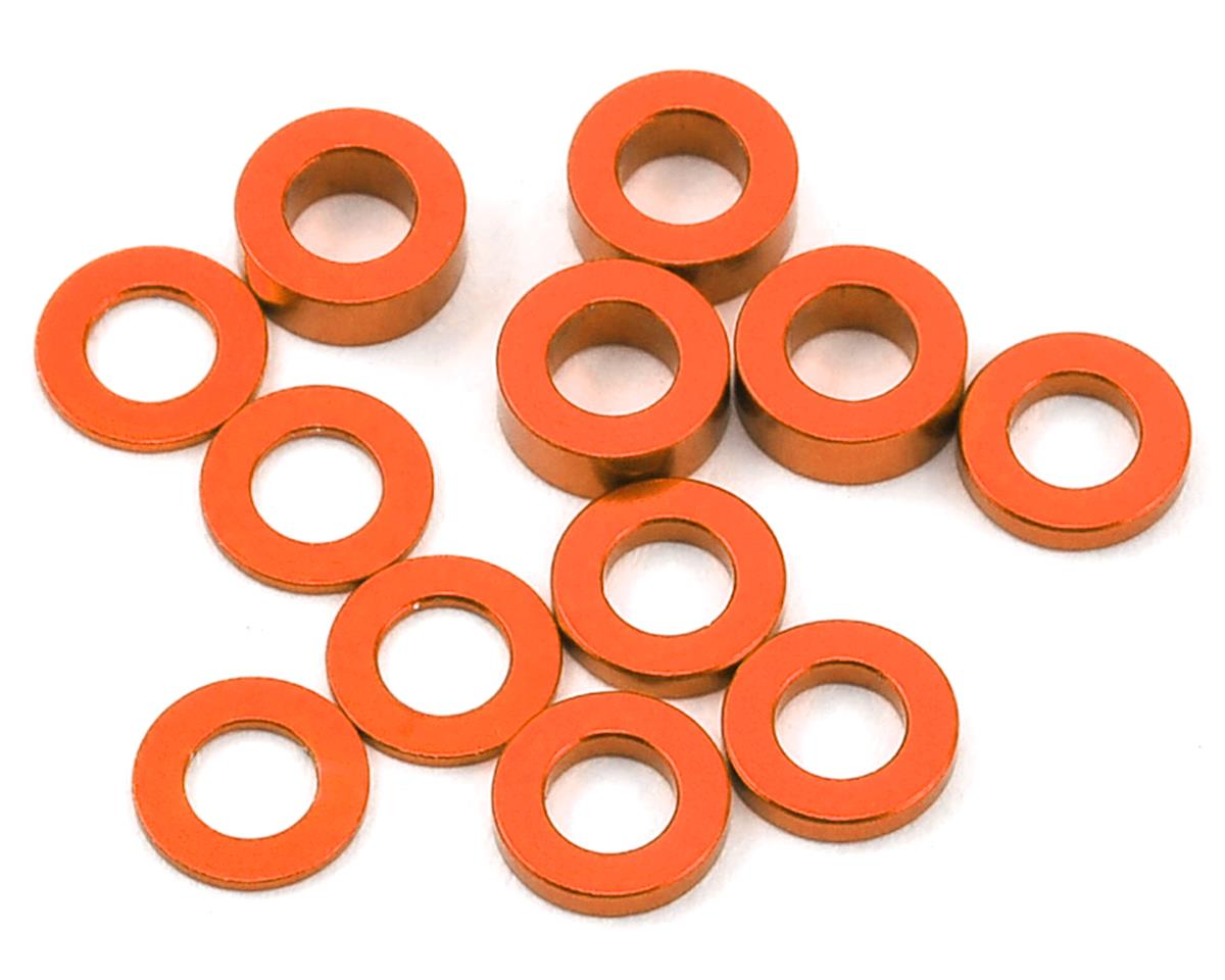 Ruddog 3mm Washer Set (Orange) (0.5mm/1.0mm/2.0mm)