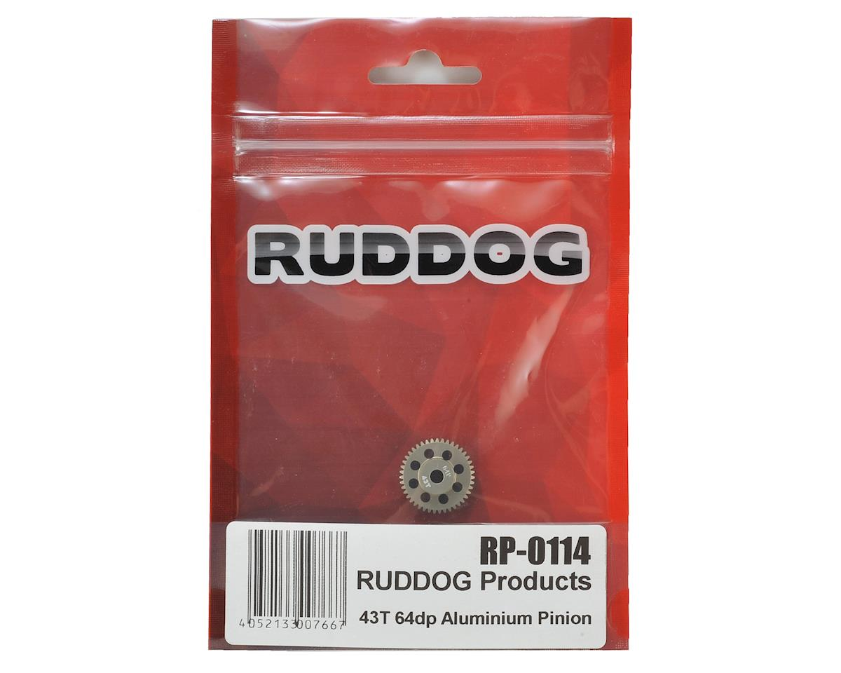 Ruddog 64P Aluminum Pinion Gear (43T)