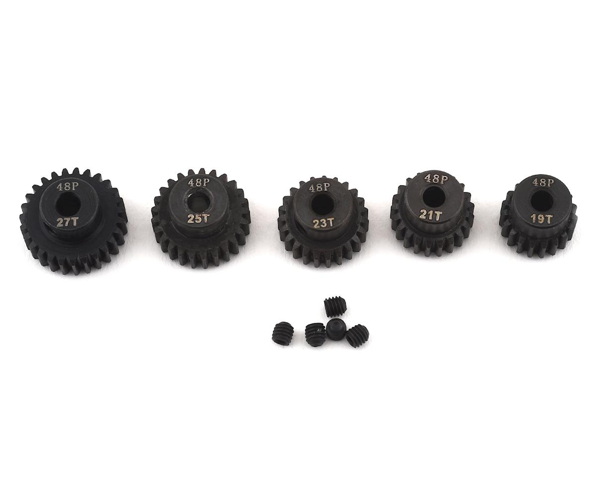 Ruddog Steel 48P Pinion Gear Odd 5-Pack Set (19,21,23,25,27T)