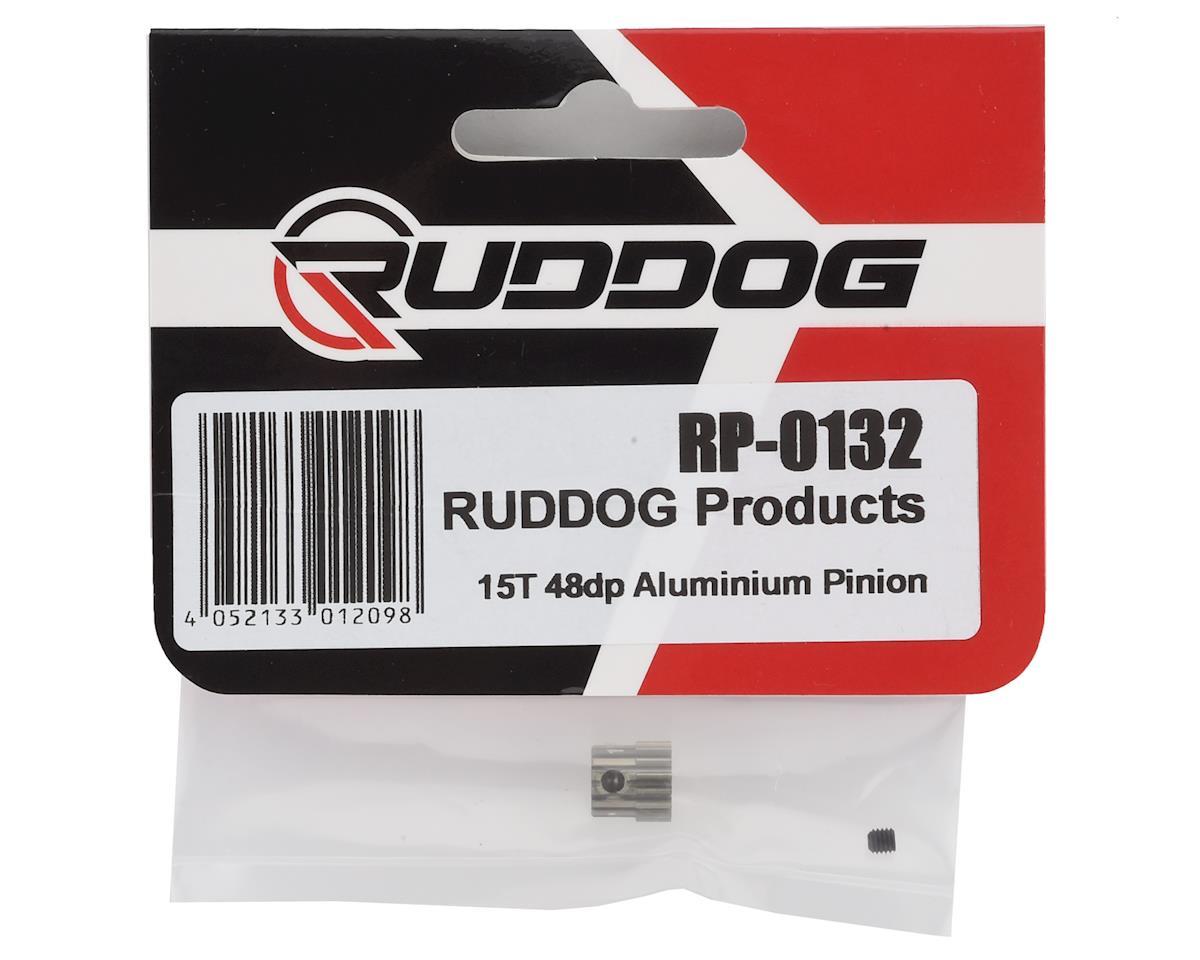 Ruddog 48P Aluminum Pinion Gear (3.17mm Bore) (15T)