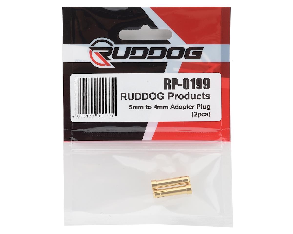 Ruddog 5mm to 4mm Adapter Bullet Plug (2)
