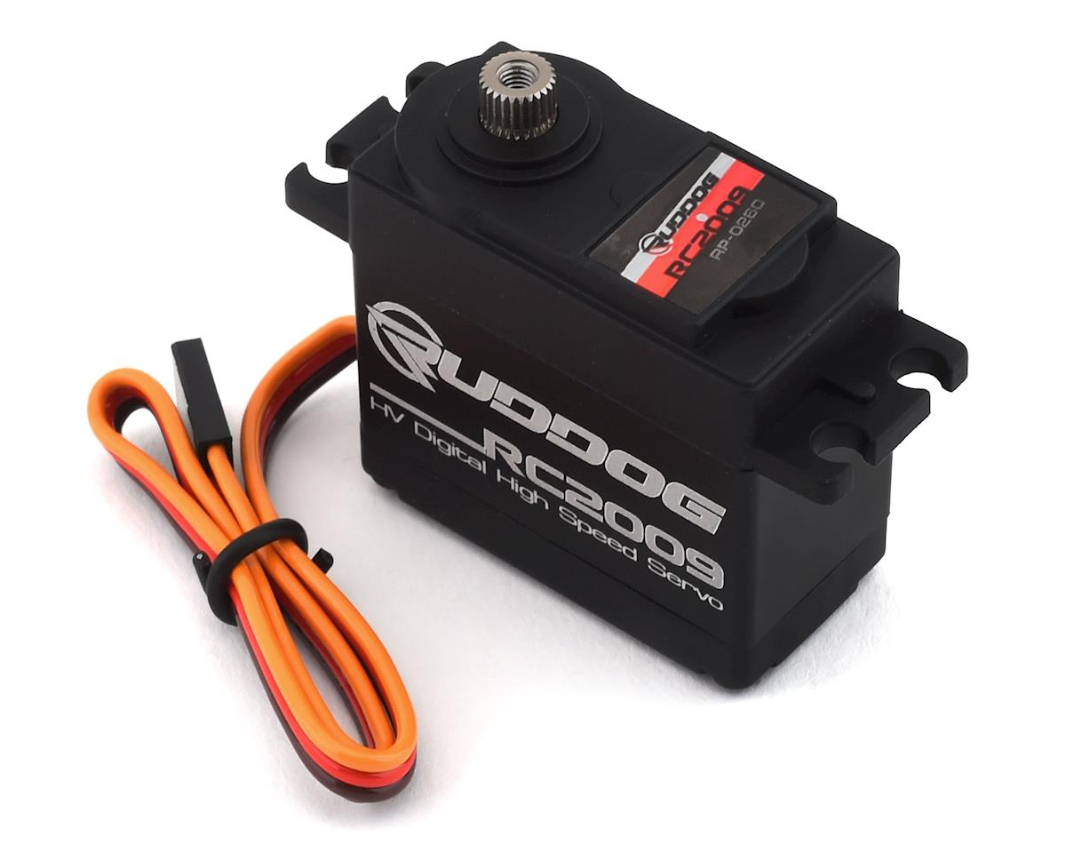 Ruddog RC2009 Digital High Speed Servo (High Voltage)