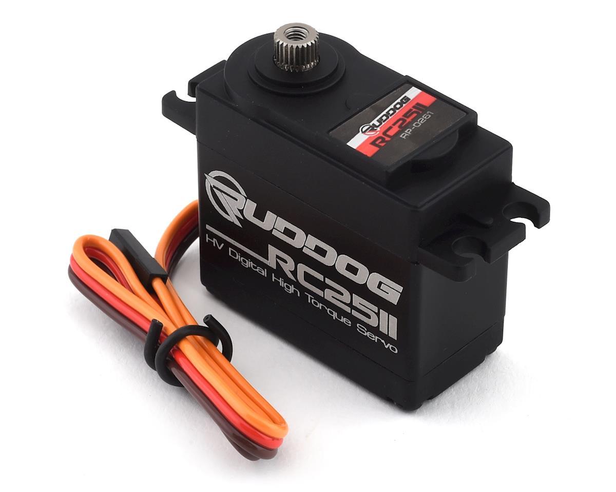 Ruddog RC2511 Digital High Torque Servo (High Voltage)
