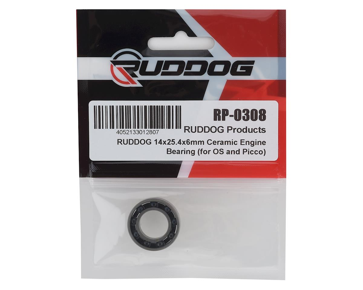 Image 2 for Ruddog 14x25.4x6mm Ceramic Engine Bearing (OS, Picco, ProTek, REDS)