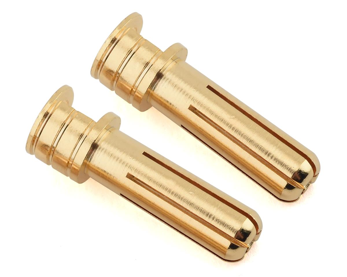 Ruddog 5mm Gold Cooling Head Bullet Plugs (2)