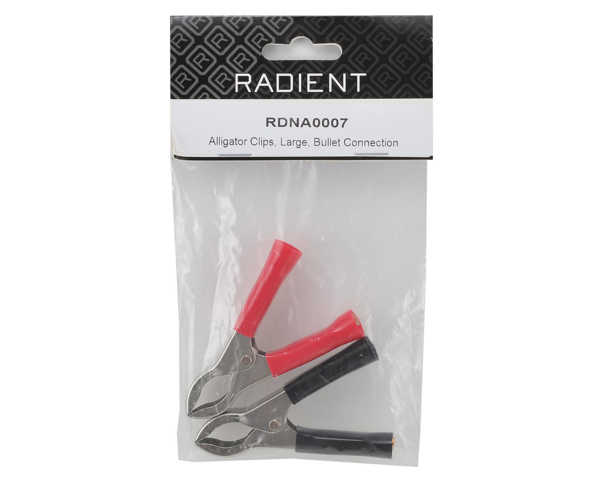 Radient Large Alligator Clips (2)