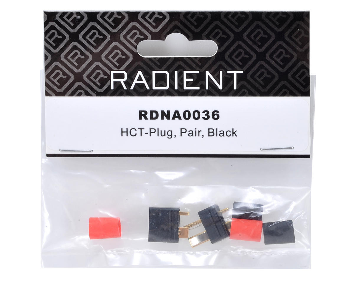Radient HCT T-Style Plug (Pair - 1 Female, 1 Male)