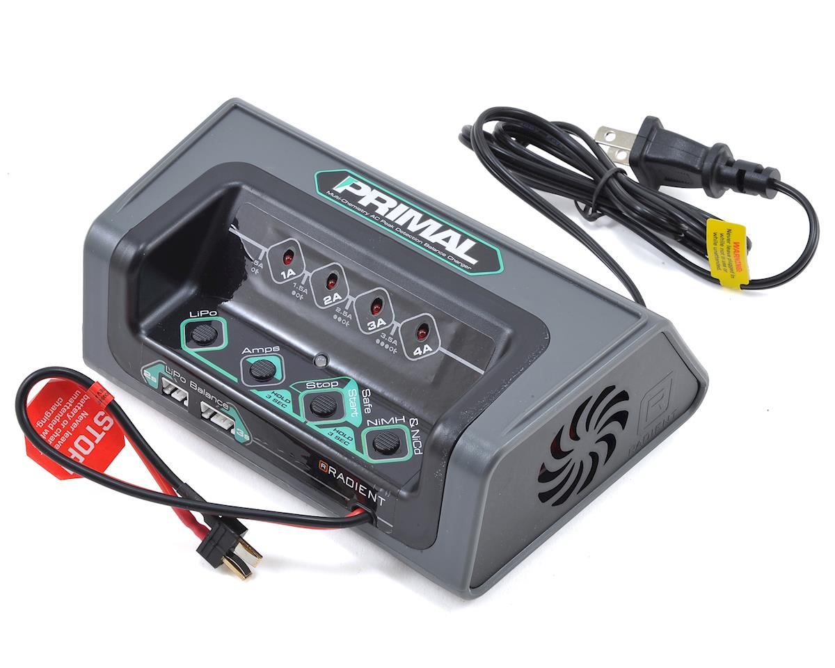 Radient Primal LED Multi-Chemistry Battery Charger (US) (3S/4A/50W)