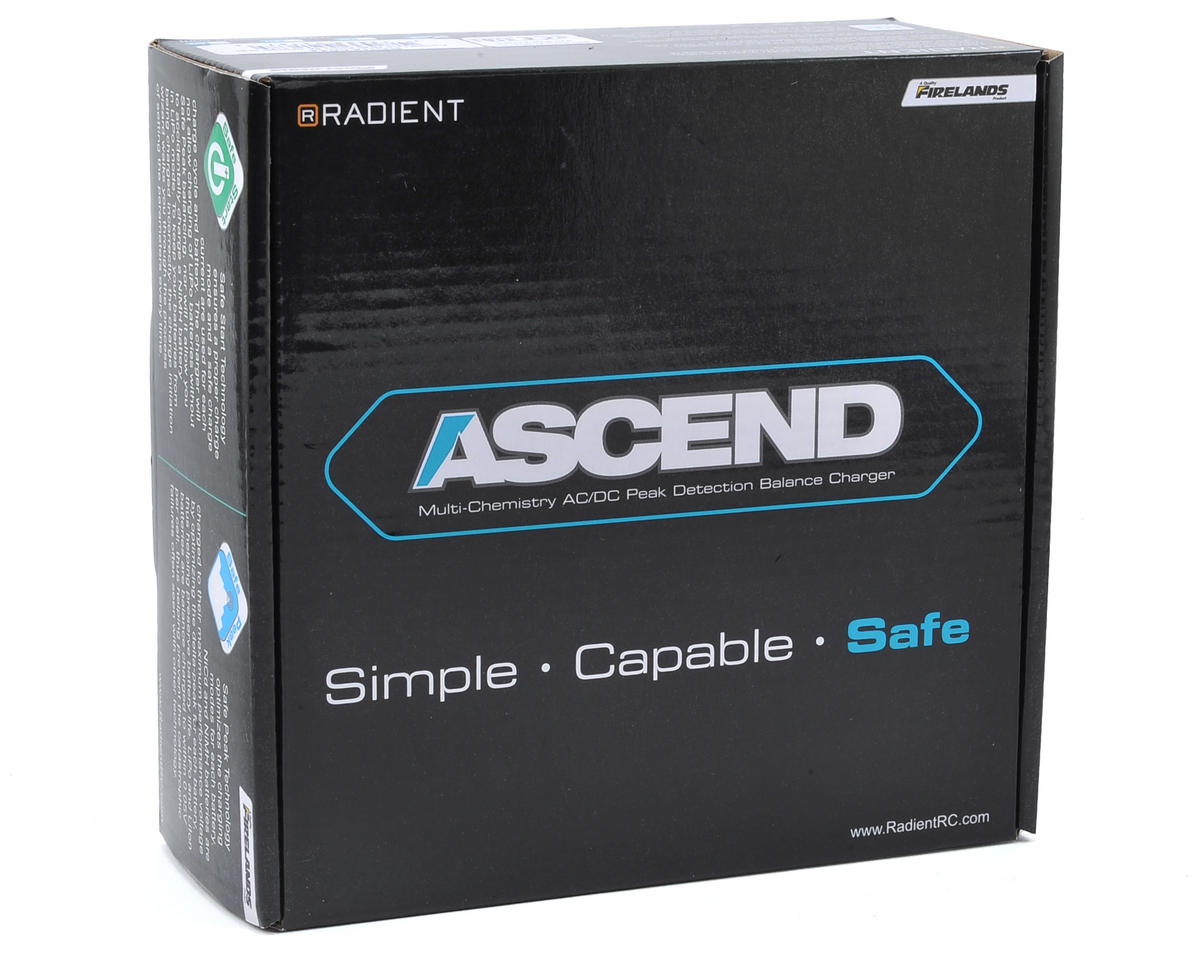 Radient Ascend LCD Multi-Chemistry 6A Charger (US) (6A/3S/50W)