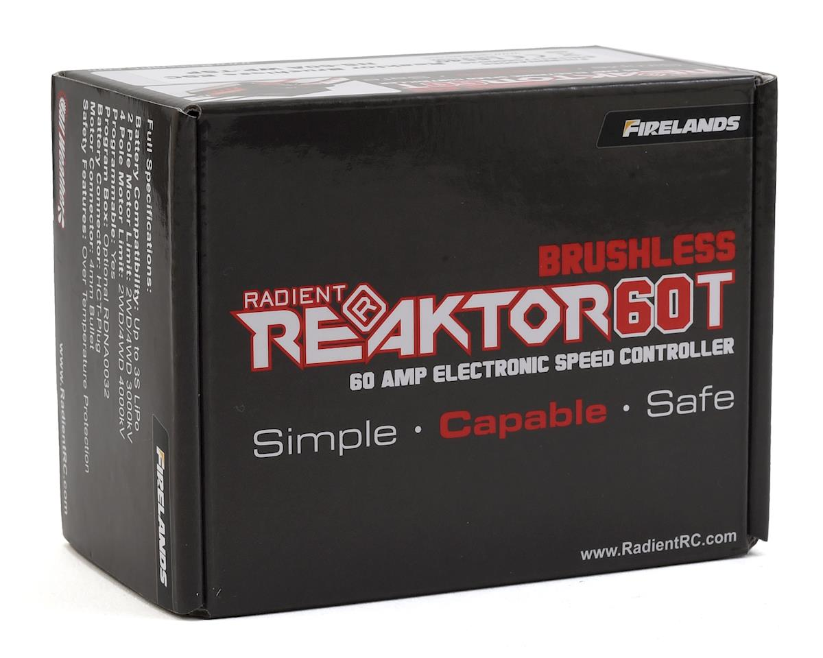 Radient Reaktor Brushless 60A Waterproof ESC