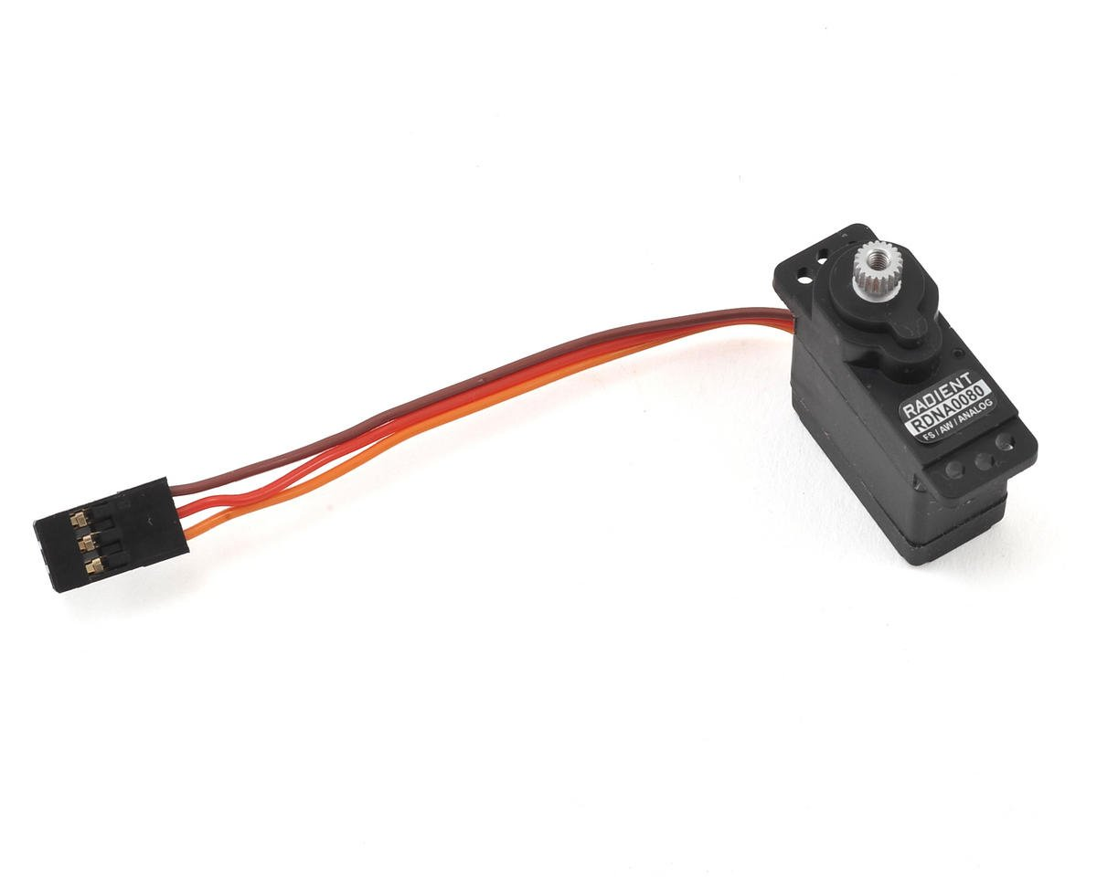 RS-SM125-MG 13g Micro 1/18 Analog Metal Gear Servo by Radient