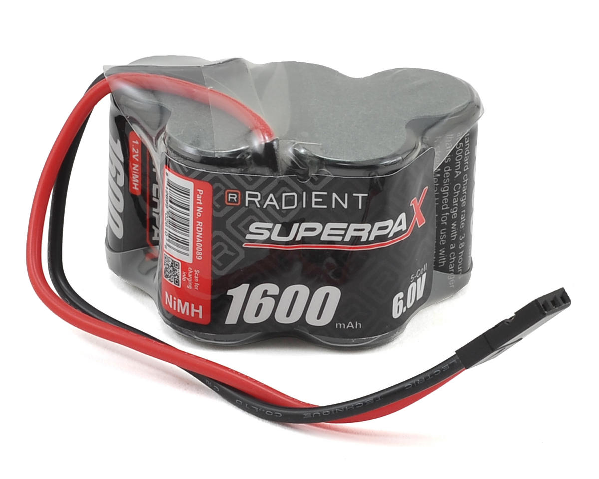 Radient 2/3A 5-Cell NiMH Hump Battery (6V/1600mAh)
