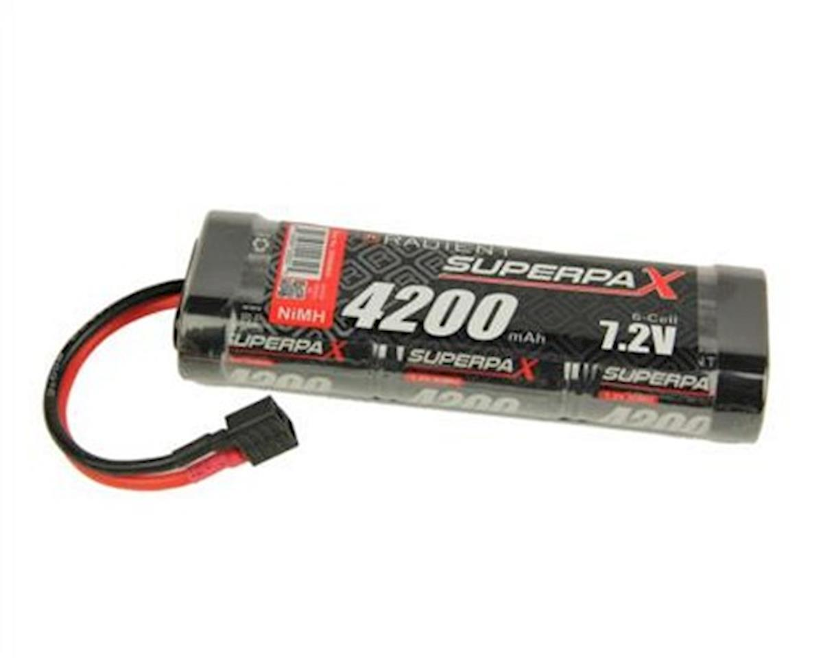 Radient 6-Cell NiMH Stick Pack Battery w/T-Style Connector (7.2V/4200mAh)