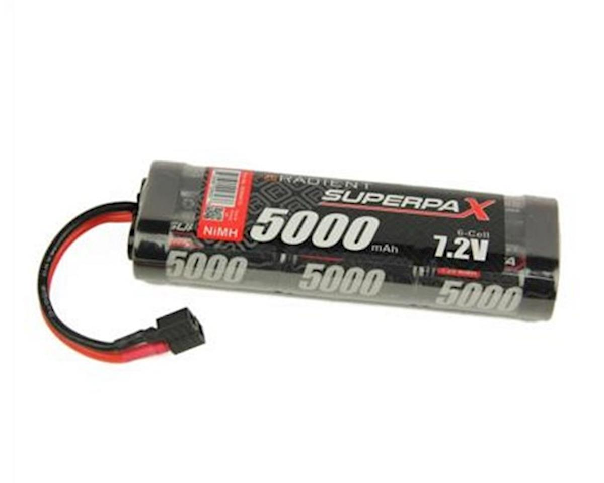 Radient 6-Cell NiMH Stick Pack Battery w/T-Style Connector (7.2V/5000mAh)
