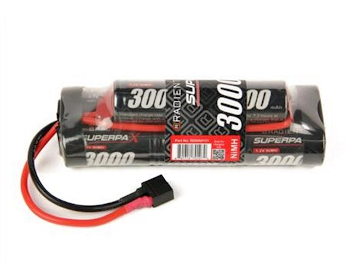Radient 8-Cell NiMH Hump Pack Battery w/T-Style Connector (9.6V/3000mAh)