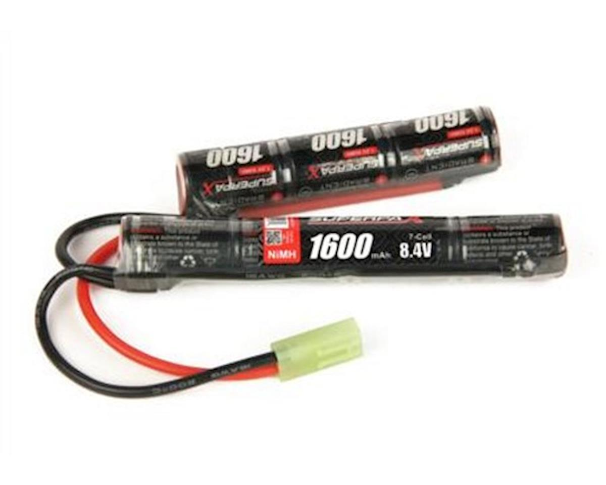 Radient 7-Cell NiMH Saddle Superpax Battery Pack w/Tamiya (8.4V/1600mAh)