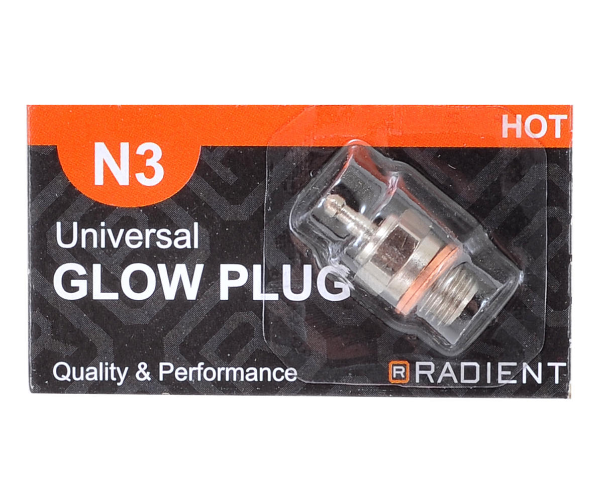 Radient 5.5mm Long Body N3 Universal Glow Plug (Hot)